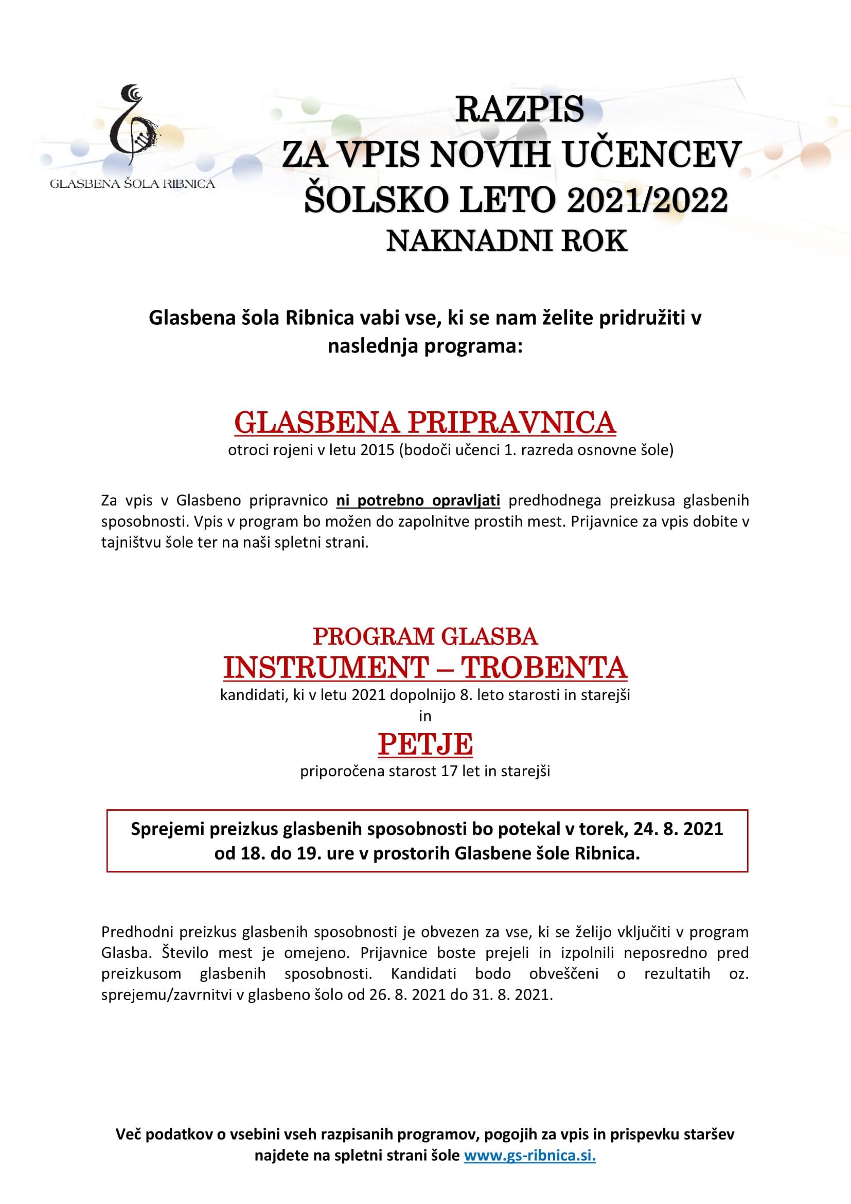RAZPIS 2021-2022- naknadni rok-1